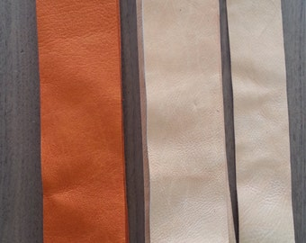 Bulk Lot of Leather Pieces for Cuffs or Bracelets - Real Leathers - Lot No. 160611-G