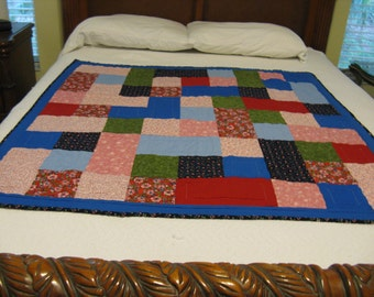 Colorful baby quilt