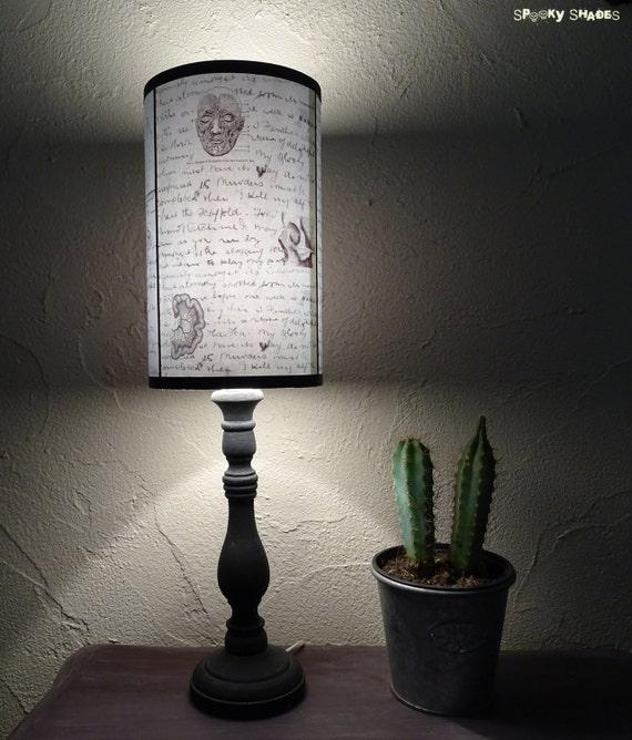 Jack S Anatomy Blue Lamp Shade Lampshade Lighting Skull