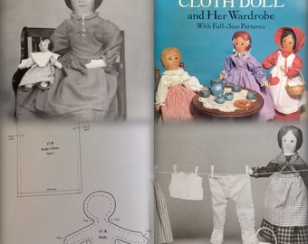 DIY Cloth Dolly Pattern Book:  Chock Full of Patterns