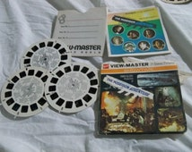 view master  the Poseidon adventure 1972  with three reels