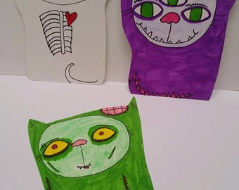Creatures, art card pack of 3,sale!