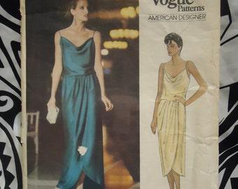 1980s vintage Kasper Vogue sewing pattern