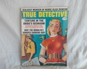 Vintage True Detective Magazine