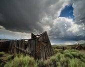 Summer Storm in Bodie- Fine Art Print
