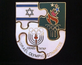 1996 Israel Olympic Commitee Puzzle Pin