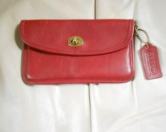 Coach Wallet / Red Coach Wallet