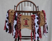 COWBOY/Rodeo 1st Birthday Banner-HIGH CHAIR Banner-Banners-Birthday Banners-Birthday Banner One-Custom Banners-Party Banner-Photo Prop