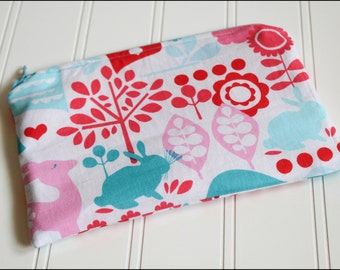 Happy Forest Zipper Pouch