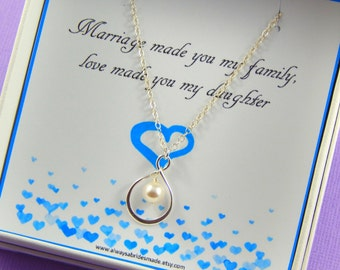 Daughter In Law Necklace,Daughter In Law Gift, Daughter In Law Wedding Gift, Daughter In Law Jewelry, Daughter Gift