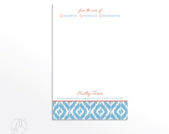 From the Mom of Notepad, Stylish Notepads for Mom, Gift for Her