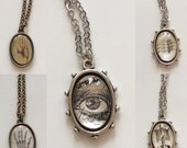 Vintage Anatomy Pendant Necklace Collection