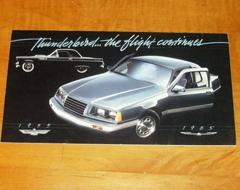 Thunderbird...The Flight Continues 30th Anniversary Brochure