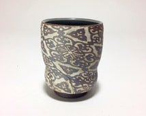 """Yunomi with Asal pattern, 4"""""""