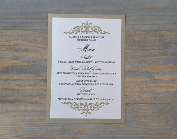 wedding menu, shimmer menu, wedding menu cards, shimmer wedding menus, modern wedding menu, elegant menu, elegant wedding menu