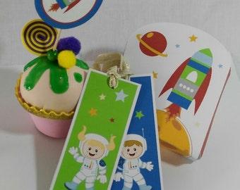Astronaut party kit
