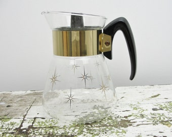 Vintage Pyrex carafe that came with Maxwell House instant coffee