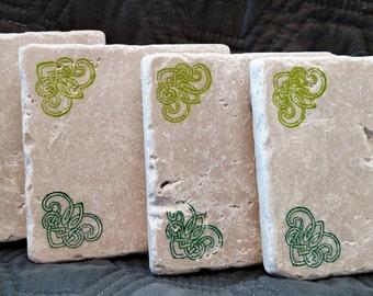 Celtic Knot Corner Coasters