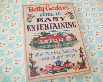 First Edition, First Printing, 1959, Betty Crocker Guide to Easy Entertaining