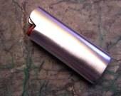 Mini Bic Lighter Case Sterling Silver