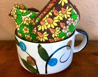 Vintage Stoneware Soup Mug Coffee Mug