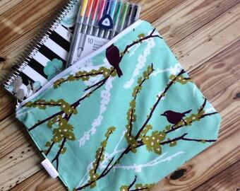 Planner pouch, planner zipper case, planner bag, custom, Life Planner case for Erin Condren, PPP, Happy Planner