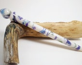 Reserved Wildflower Acrylic Turned Hair Stick - No 125