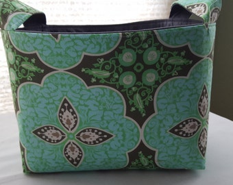 Fabric Organizer Basket Container Amy Bulter Green