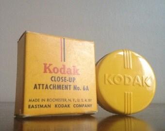 Vintage Kodak Close-Up Attachment No. 6A.