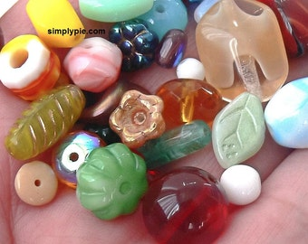 Dollar Sale Assorted Czech Glass Beads 20