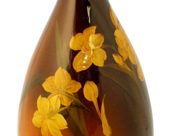 Rookwood Pottery 1900 Standard Glaze Yellow Floral Ewer 496B (Lincoln)