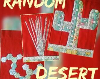 Random Desert 3 Improv Quilt Blocks PDF Pattern