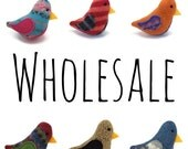 10% off - WHOLESALE - Birds of a Sweater - 10 Cat Toys