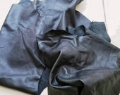 Top Quality Black Leather Remnants Three Pieces one price