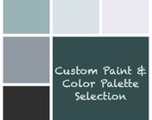 Paint & Color Palette Selection - Custom - Single Room