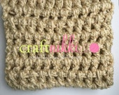 CLEARANCE! Ready to Ship! Mini Blanket Photo Prop in Cream