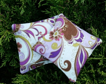 Paisley Lavender Sachets, Set of two