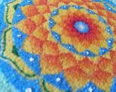 Original Mandala Sand Art (sherbet)
