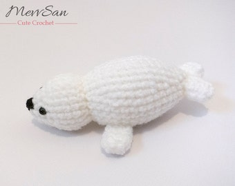 Crochet Amigurumi Seal : Crochet PATTERN PDF Amigurumi Opossum amigurumi pattern