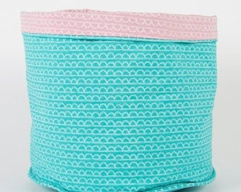 Pastel Scallop Storage Basket (two designs available)
