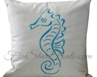 Stylistic Seahorse