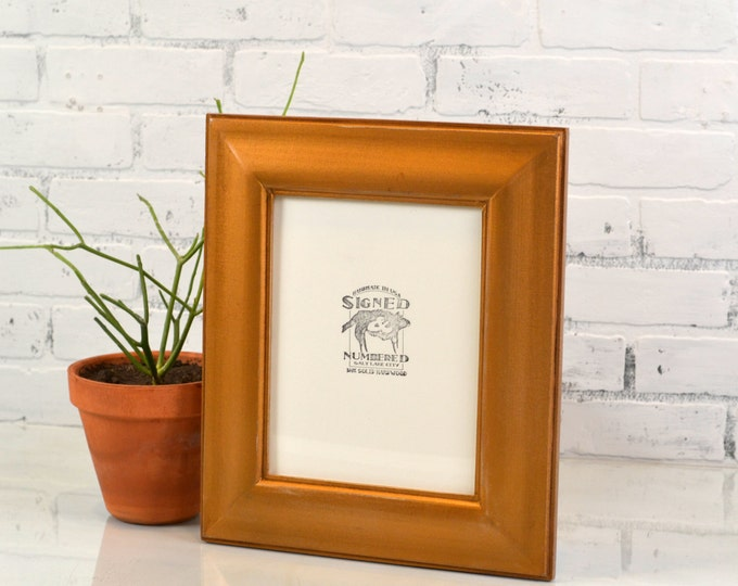 """Solid Color of Your Choice in The Classy Style - Choose your medium frame size: 8x8, 7x9, 8x10, 9x9, 8x12, 8.5x11, A4 size 8.3 x 11.7"""""""