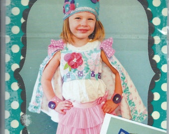 Little Londyn: the Princess and Her Mighty Knight– New – Uncut Paper Pattern