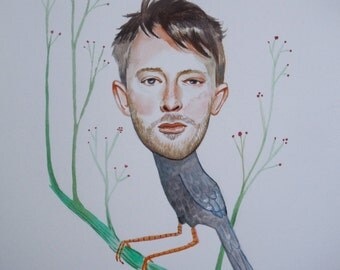 Thom Yorke weird little bird