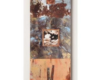 6x18 Mixed Media Triptych