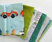 Discontinued fabric from Kellie Wulfsohn for Riley Blake, Peak Hour -Half Yard bundle 6 total