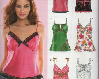 New Look Misses Top Sewing Pattern 6490