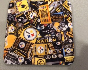 Pittsburgh Steelers Coasters 4 Piece Set