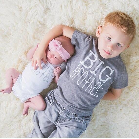 Camicia e body coordinati per fratello maggiore e sorellina-5513