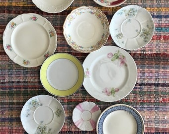 Vintage China Plate Collection